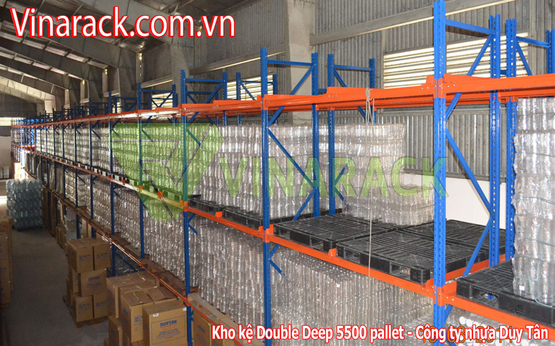 Kệ Double Deep chứa pallet