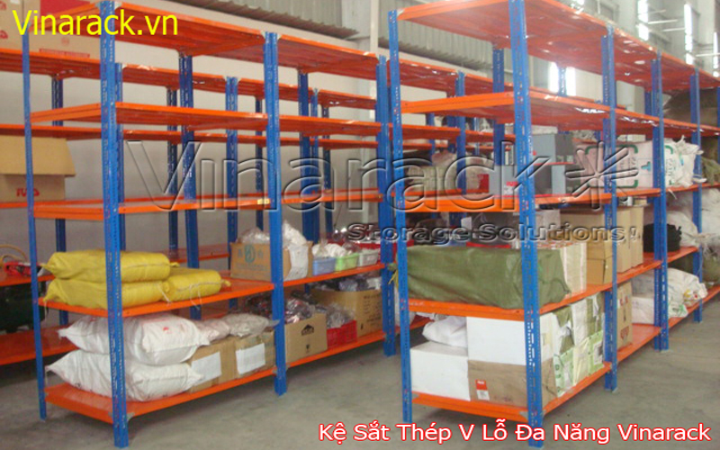 slotted angle rack system