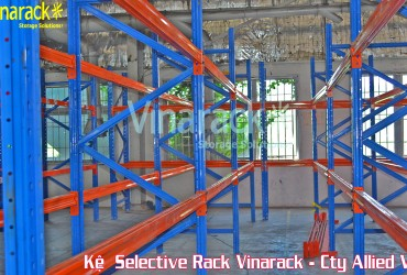 Giá kệ Selective chứa pallet